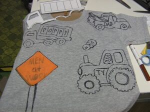 t shirt without transfer paper