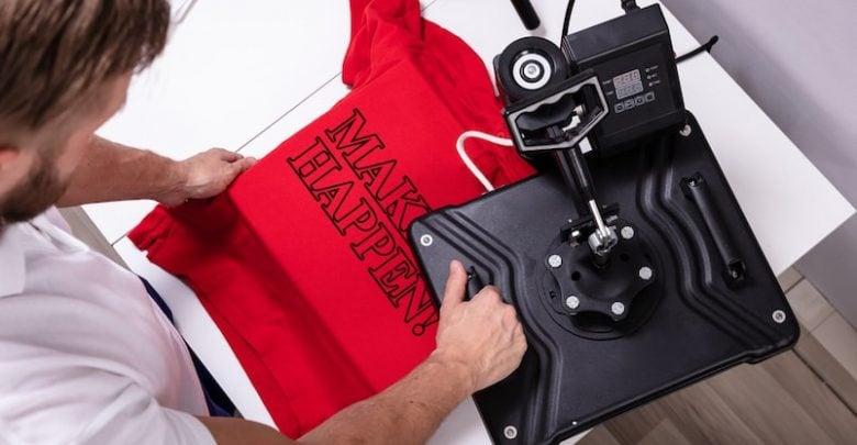 Screen Printing on T-shirt