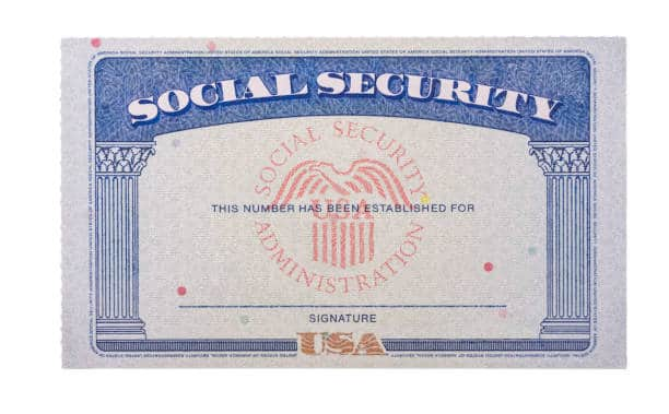 free social security card application