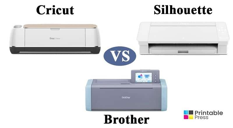 cricut vs silhouette vs brother