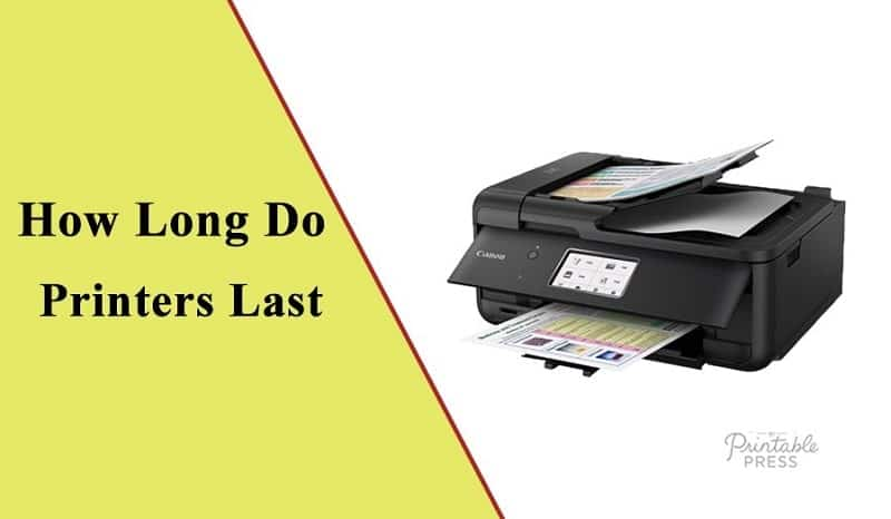 how long do laser printers last
