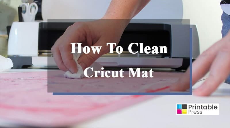 how to clean cricut fabric mat