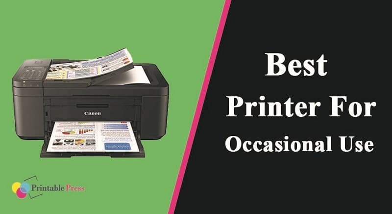 best printer for occasional use